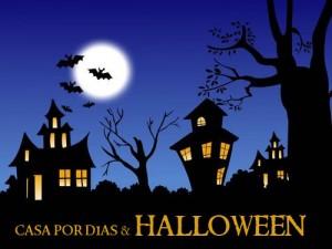 casa para fiestas de halloween