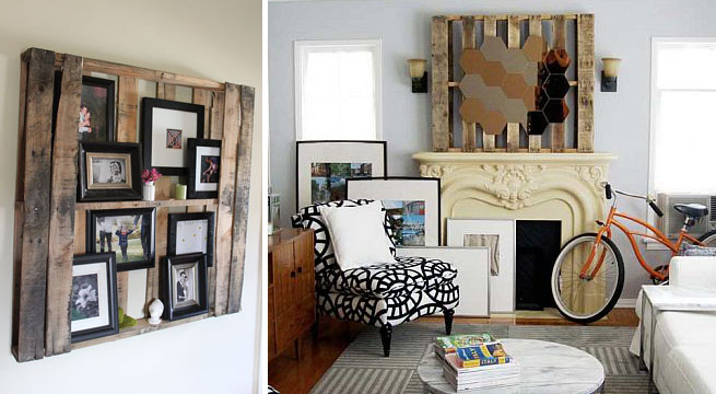 Ideas para decorar con palets trececasas - Ideas decorativas con palets ...
