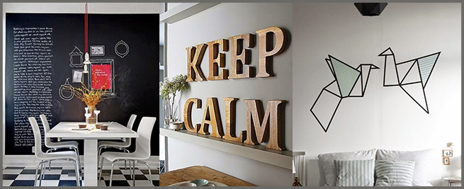 Cuatro ideas para decorar paredes trececasas inmobiliaria - Ideas para decorar una pared ...