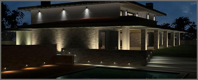 Consejos para una buena iluminaci n exterior trececasas - Luces de exterior ...