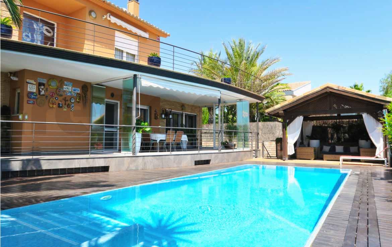 Chalet lujo-torre conill piscina