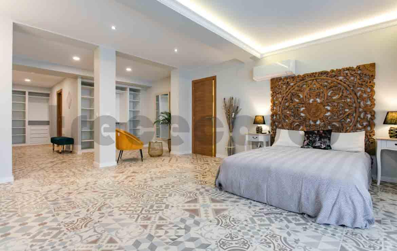 Vivienda lujo-valencia-dormitorio