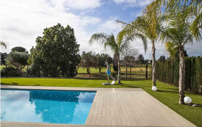 Chalet lujo-torre conill- piscina