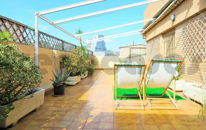 Ático lujo-cortes valencianas-terraza